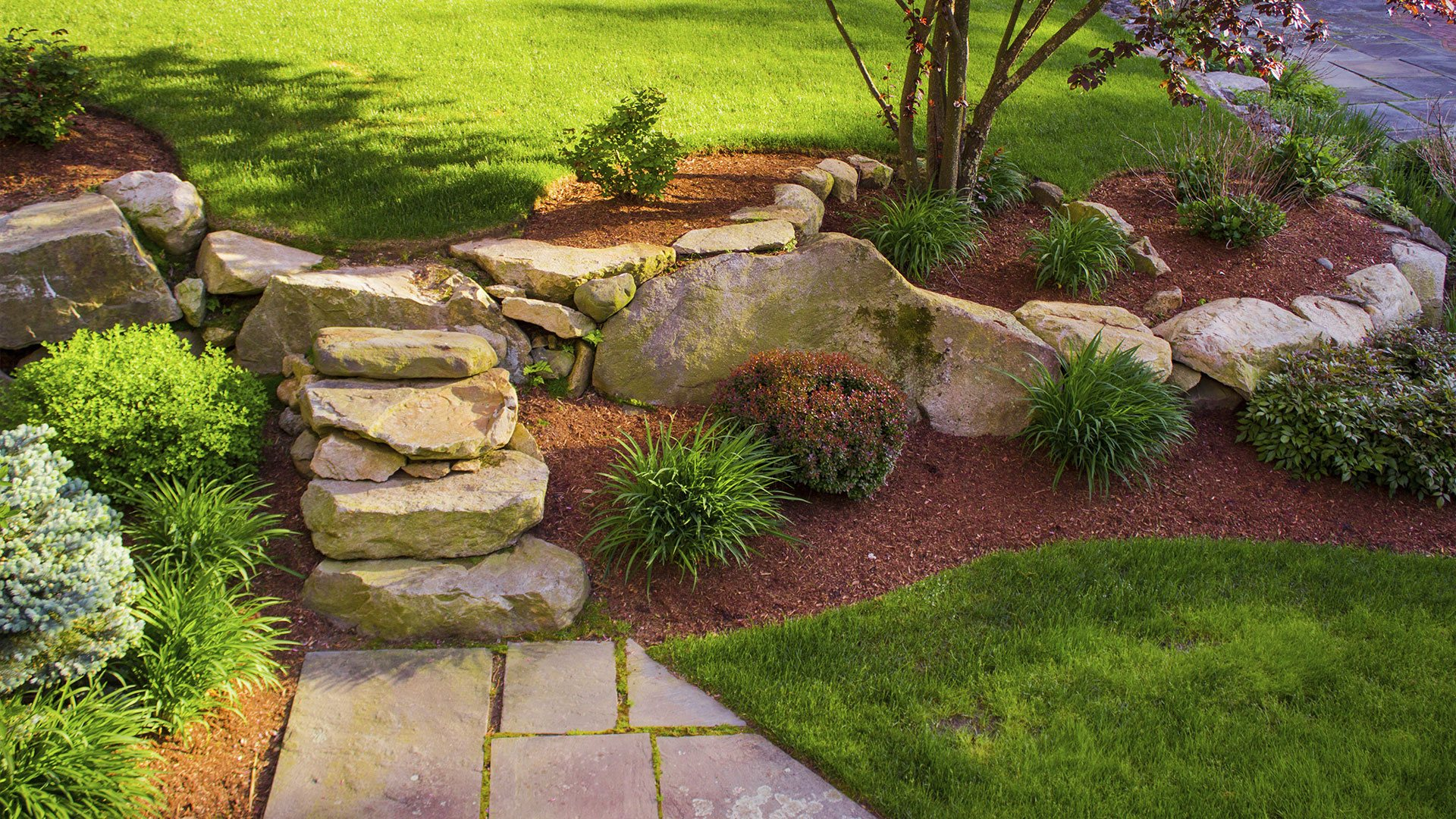 Design Landscaping Pics landscaper lawn care and tree service in kennesaw marietta acworth no limit landscaping slide 3